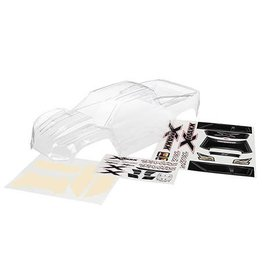 Traxxas X-Maxx Body (Clear - Needs Paint) w/ decal sheet