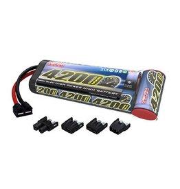 Venom 7-C 8.4V 4200mAh NiMH Flat: UNI Plug