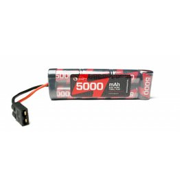 Racers Edge 7 Cell 5000mAh NiMh Flat Pack with TRX Connector