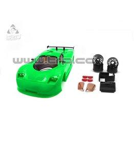 TRP Mosler MT900 R Body Set (Green Unpainted)