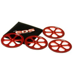 EDS Alu Set-Up Wheels for 1/10 Sedans (4)