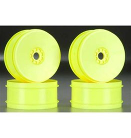 AKA Products 1/8 Buggy EVO Wheels Yellow (4)