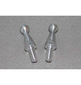 IRS Long Aluminum Ball Studs (2, Silver)