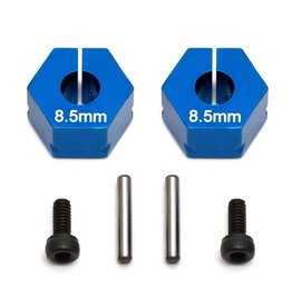 Associated FT Clamping Wheel Hexes, 8.5mm