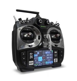 Graupner MZ-24 PRO 12 Channel 2.4G.HZ HoTT Color TFT Radio System (Silver)
