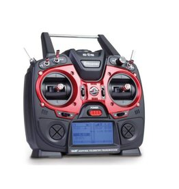 Graupner MZ-12 PRO 12 Channel 2.4GHz HoTT Transmitter with Falcon 12 Gyro Receiver