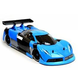 Exotek Racing P-ZERO GT 190mm 1/10 Clear Body and Lexan Wing Set