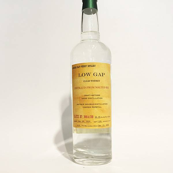 Low Gap Rye Whiskey (750ml)