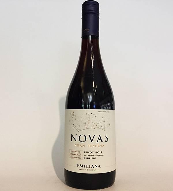 2012 Novas Pinot Noir Gran Reserva (750ml)