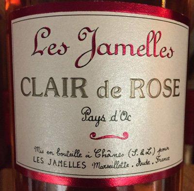 2015 Les Jamelles Vin de Pays d'Oc Clair de Rose (750ml)
