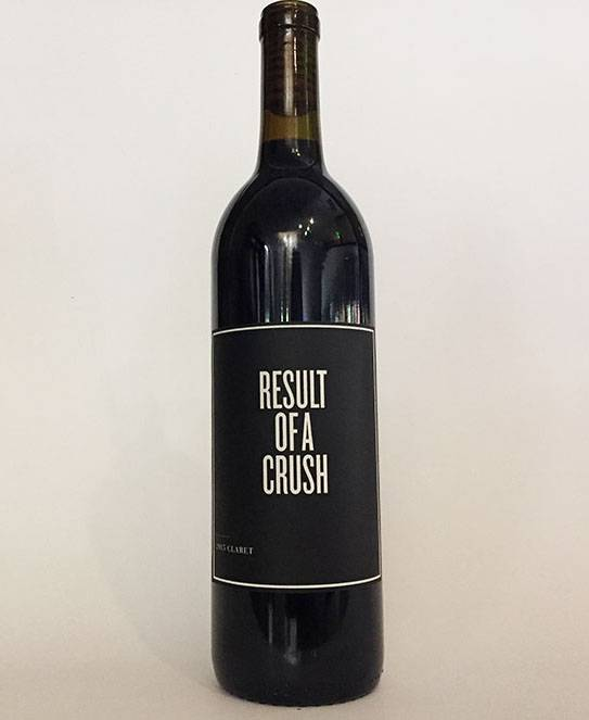 2015 Result of a Crush Claret (750ml)