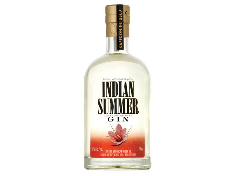 Indian Summer Distilled Gin  (750ml)
