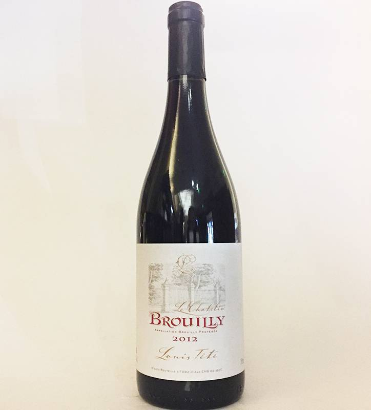 2012 Louis Tete Brouilly Le Chatelin (750ml)