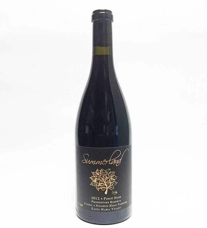 2012 Summerland Pinot Noir Proprietor's Reserve Solomon Hills Vineyard (750ml)