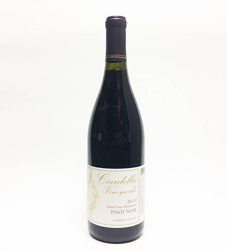 2010 Ciardella Pinot Noir Santa Cruz Mountains (750ml)