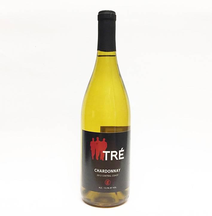 2012 Tre Chardonnay Central Coast (750ml)