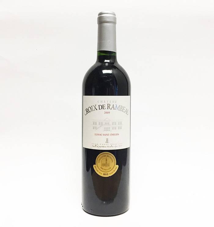 2009 Croix de Rambeau Saint-Emilion Bordeaux (750ml)