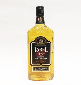 Label 5 Classic Black Blended Scotch Whisky (750ml)