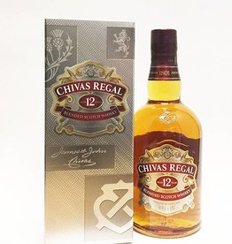 Chivas Regal 12yr Blended Scotch Whisky (750ml)