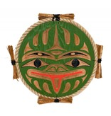 Frog Plaque by Noel Brown (Nanaimo / Coast Salish).