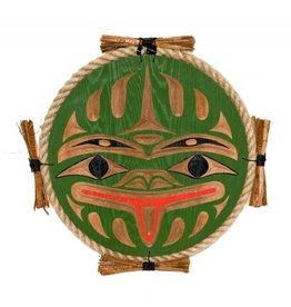 Frog Plaque by Noel Brown (Nanaimo / Coast Salish).