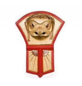 Hawk / Copper Shield Plaque by Errol Hillis (Gitxsan).