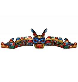 Sisiutl Mask Carved by Jimmy Joseph (Kwakwaka'wakw)