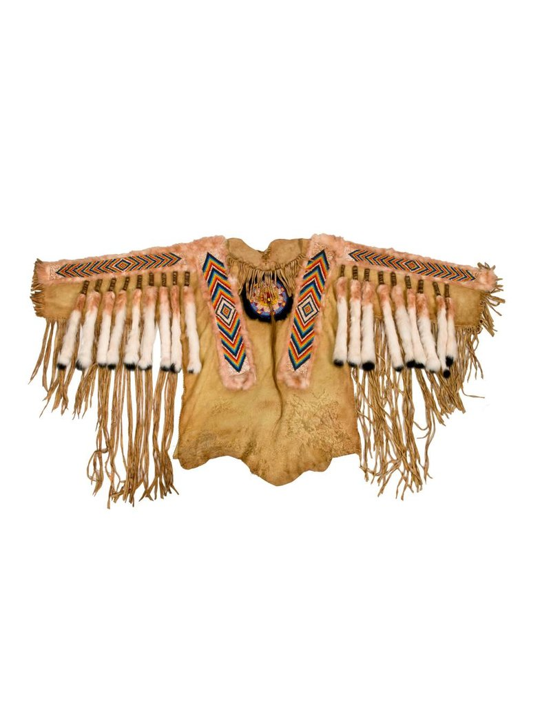Beaded Moosehide Shirt