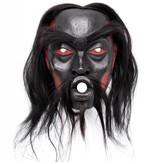 Dzunukwa Mask by Beau Dick (Kwakwaka'wakw).
