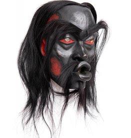 tsaw Dzunukwa Mask by Beau Dick (Kwakwaka'wakw).