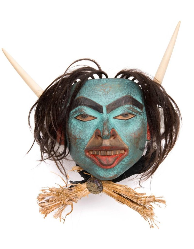 Shaman mask by Beau Dick (Kwakwaka'wakw).