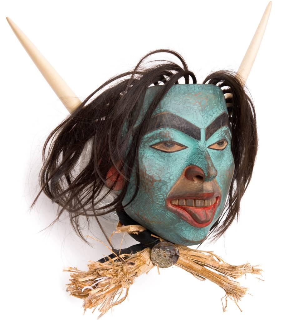 Shaman mask by Beau Dick (Kwakwaka'wakw).