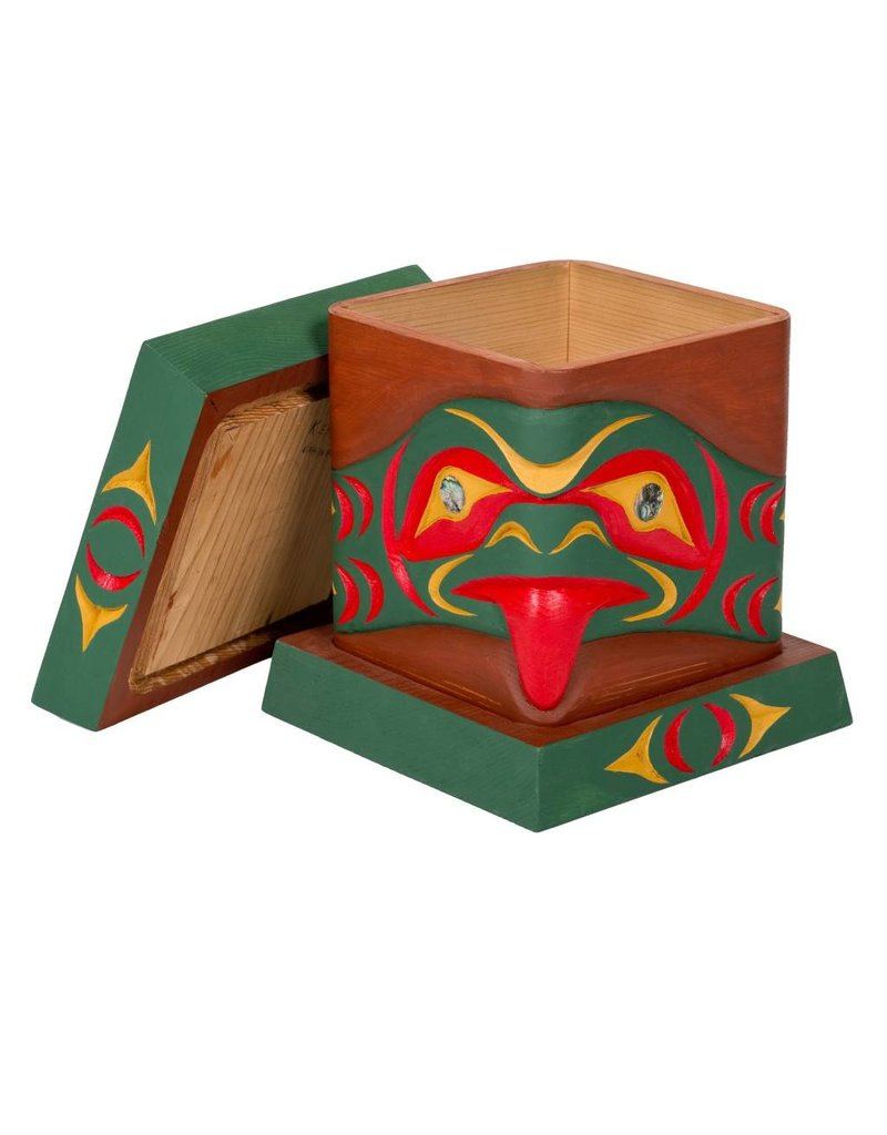 Bent Box with Salish Serpent Design by Keith Nahanee