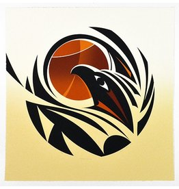 'Changing Seasons State 1' - Print by Susan Point (Musqueam/Coast Salish).