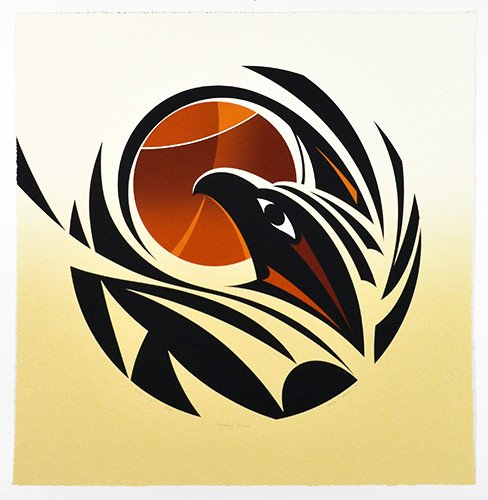 'Changing Seasons State 1' - Print by Susan Point (Musqueam/ Salish).