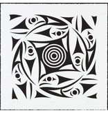 'Circle of Life' - Print by Susan Point (Coast Salish).