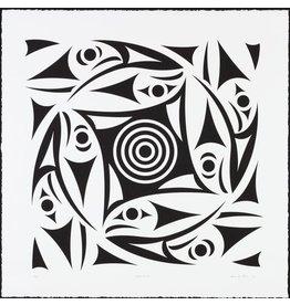 'Circle of Life' - Print by Susan Point (Coast Salish).