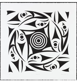 'Circle of Life' - Print by Susan Point