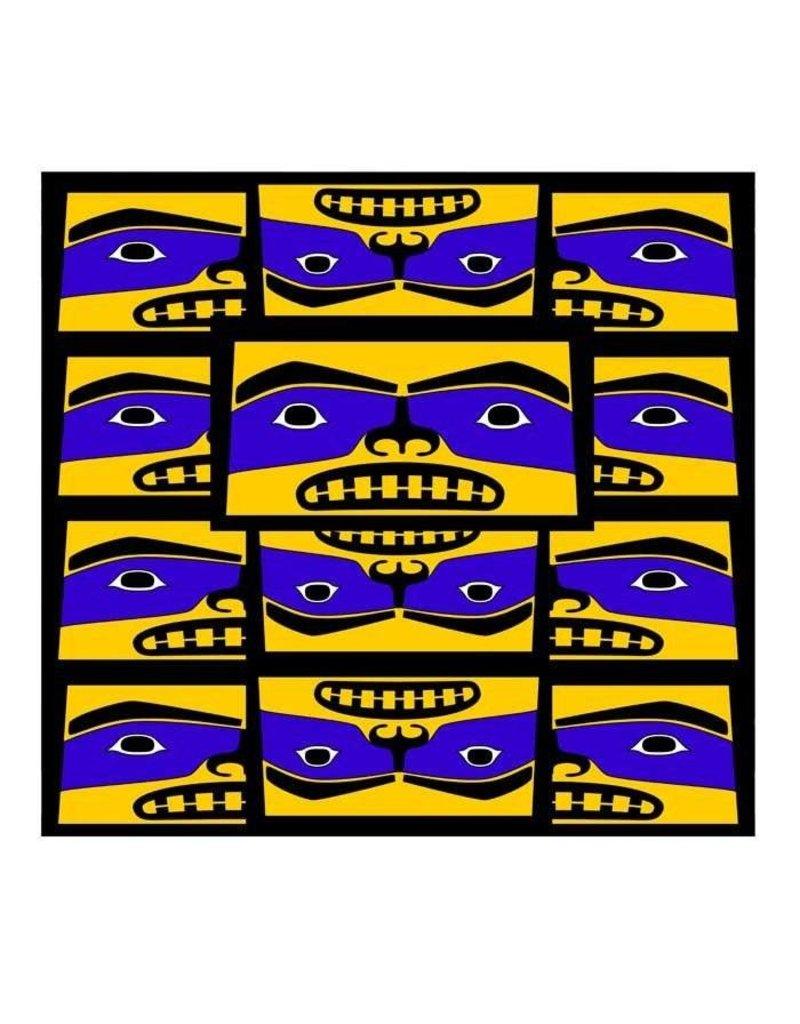 'Born Leader' print by Alano Edzerza (Tahltan).
