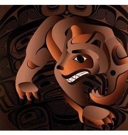 Artist Print 'Bear Den' by Alano Edzerza (Tahltan).