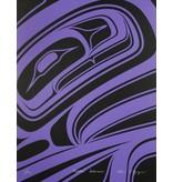 'Purple Formline' print by Alano Edzerza (Tahltan).