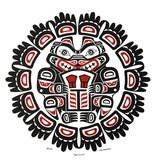Bear Shield Print by Wade Baker (Squamish/Coast Salish).