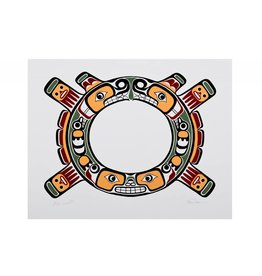 'Sisiutl' Limited Edition Print Signed by Beau Dick (Kwakwaka'wakh).