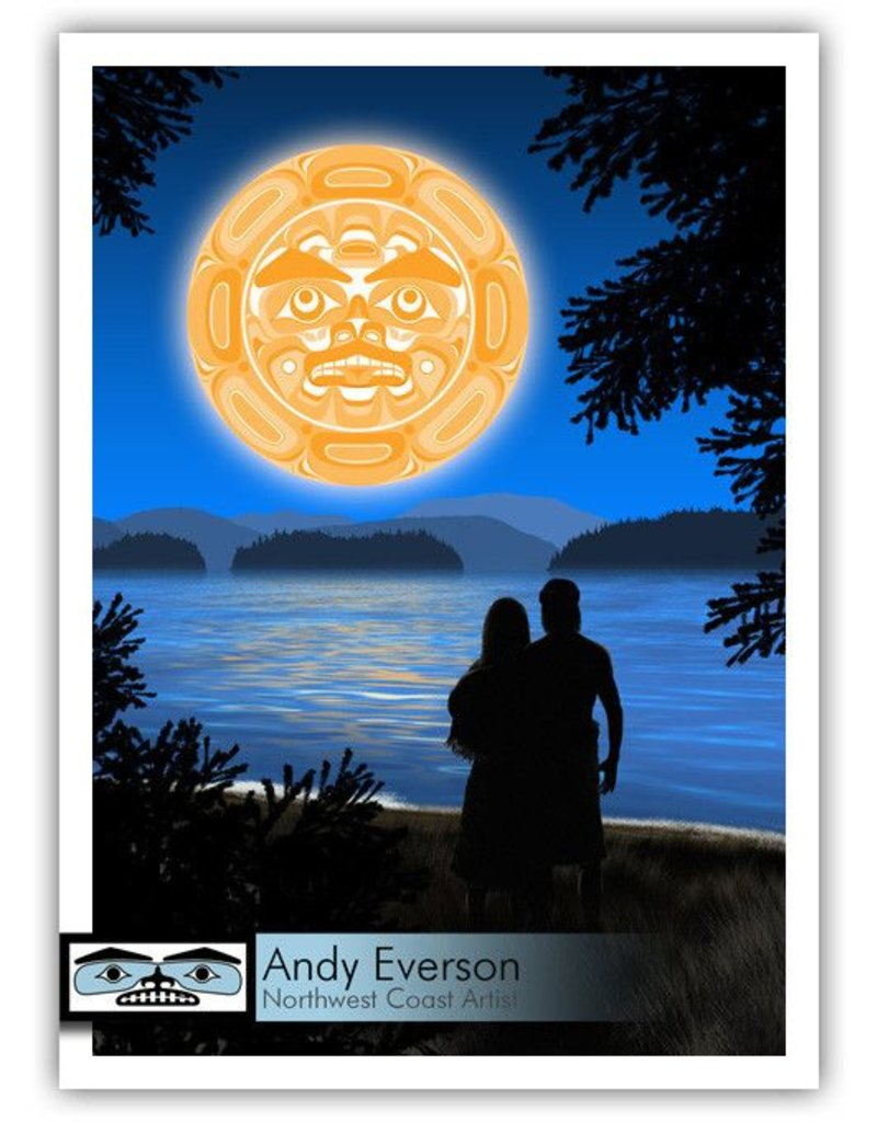 """""""Together"""" Print by Andy Everson (Komox)."""