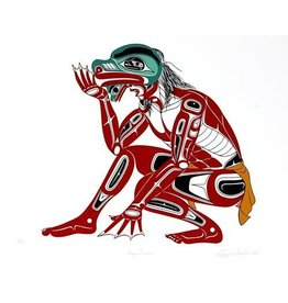 'Frog Dancer' Print by Richard Shorty (Northern Tutchone).