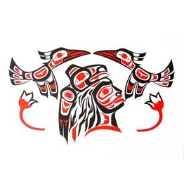 'Haida Chief' print by Ron LaRochelle (Haida).
