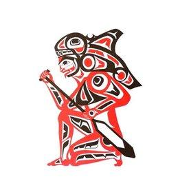 'Spirit of the Orca' print by Ron LaRochelle (Haida).