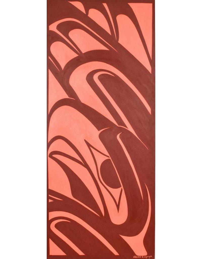 Original Painting by Alano Edzerza -  Eagle design.
