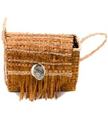 Cedar Bark Bag by Unknown Artist.