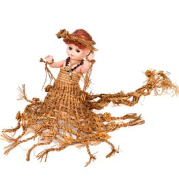 Doll with Cedar Bark Regalia by Noreen Bell